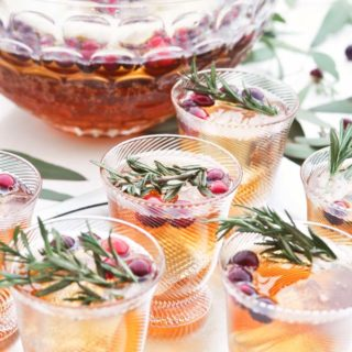 Whiskey Girl Celebration Punch