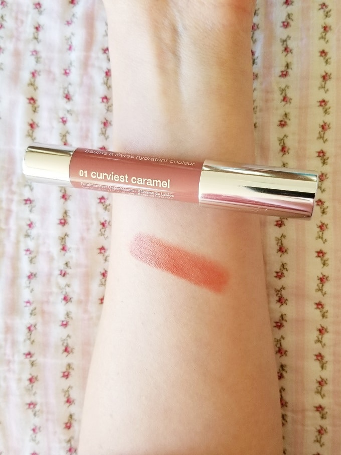 Clinique Chubby Stick Intense Curviest Caramel Swatch Review