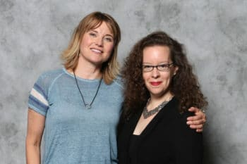 Lucy Lawless Katie Moseman Megacon Celebrity photo op