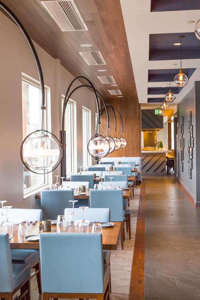 Paddlefish second floor dining