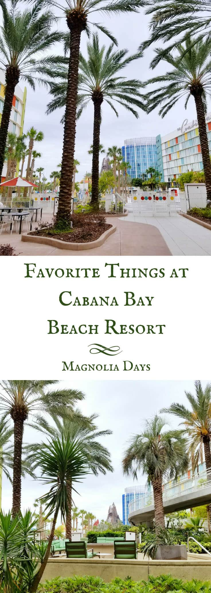 We stayed at Universal's Cabana Bay Beach Resort, and it became one of my all-time favorite hotel stays.  Find out the top 10 reasons why I loved this fabulous retro-themed resort.