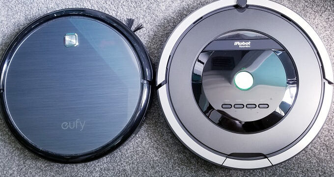 Battle of the Robot Vacuums: Eufy Robovac 11 vs iRobot Roomba 801