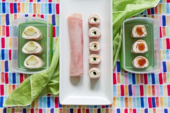 Ham and Cream Cheese Roll Ups