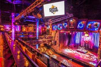 House of Blues Orlando Loge Seating with bar