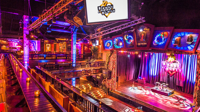 My Favorite Seats at House of Blues Orlando