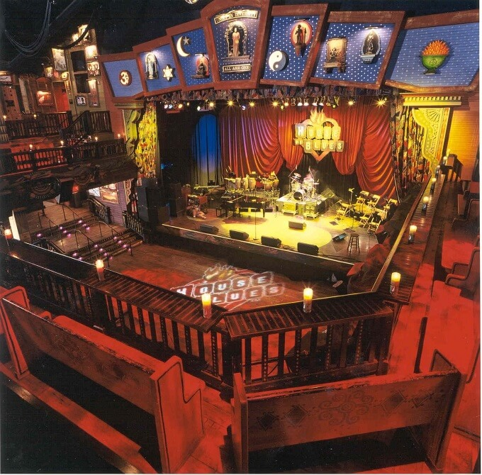 House of Blues Orlando Second Level Loge Seating