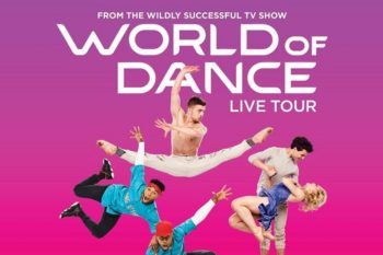 World of Dance Tour Live Show promotional image