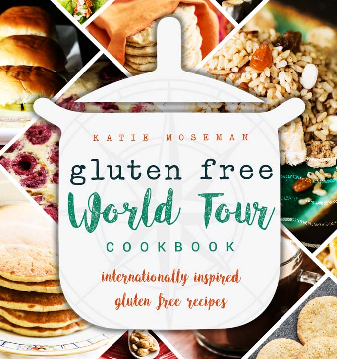 Cover of Gluten Free cookbook, Gluten Free World Tour