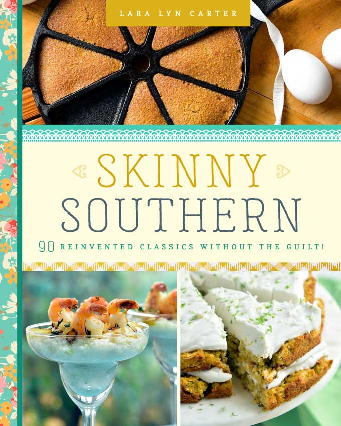Front cover of Skinny Southern cookbook