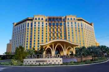 Disney's Coronado Springs Resort Gran Destino Tower and Entrance