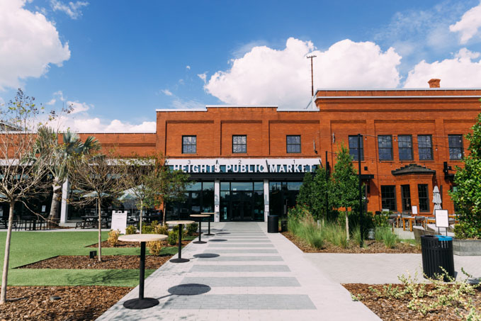 Heights Public Market at Armature Works exterior, one of the best tampa attractions for families