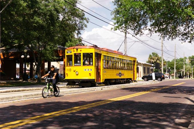 TECO Streetcar in Tampa