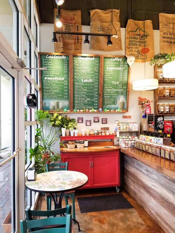 Interior of Caffe di Riverwalk