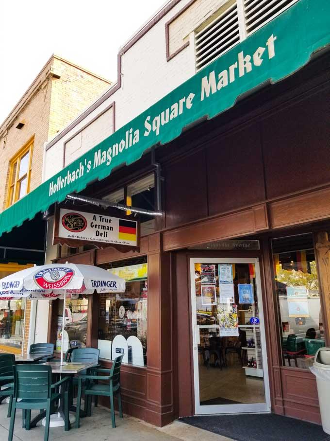 Exterior of Magnolia Square Market