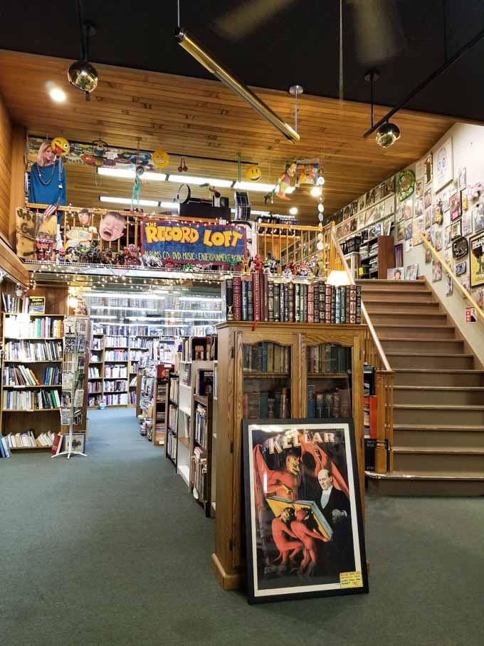 Interior of Maya Books and Music