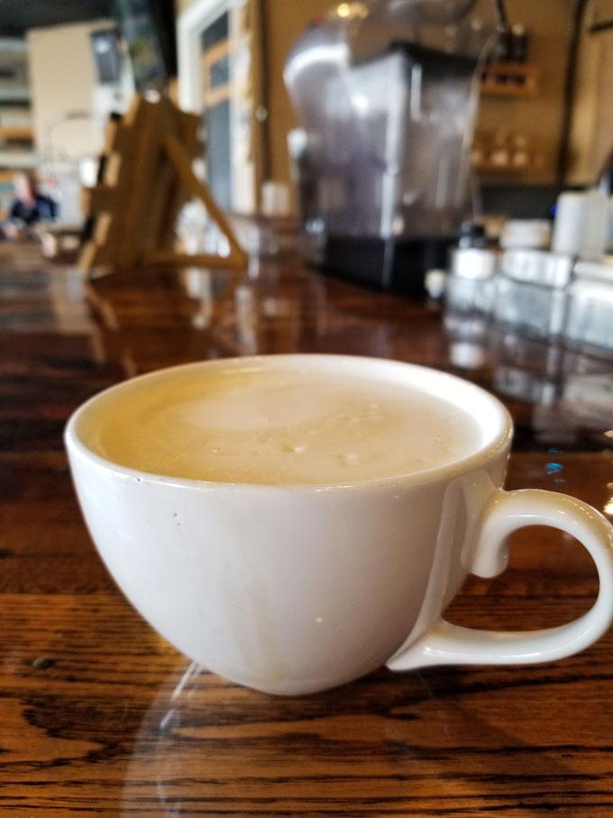 Sanford Fog tea at Palate Coffee Brewery