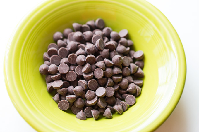 Chocolate chips for melting in the microwave for chocolate covered strawberries