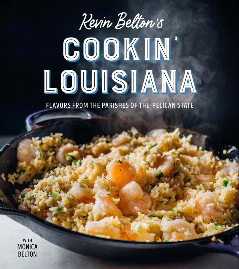 Cover of Cookin Louisiana by Kevin Belton